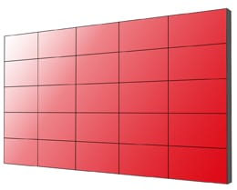 5x5 Displaywall