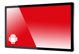 proTOUCH Screen mit integriertem Android Player